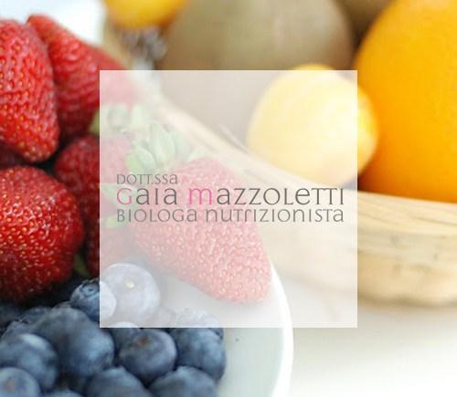 gaia mazzoletti biologa nutrizionista