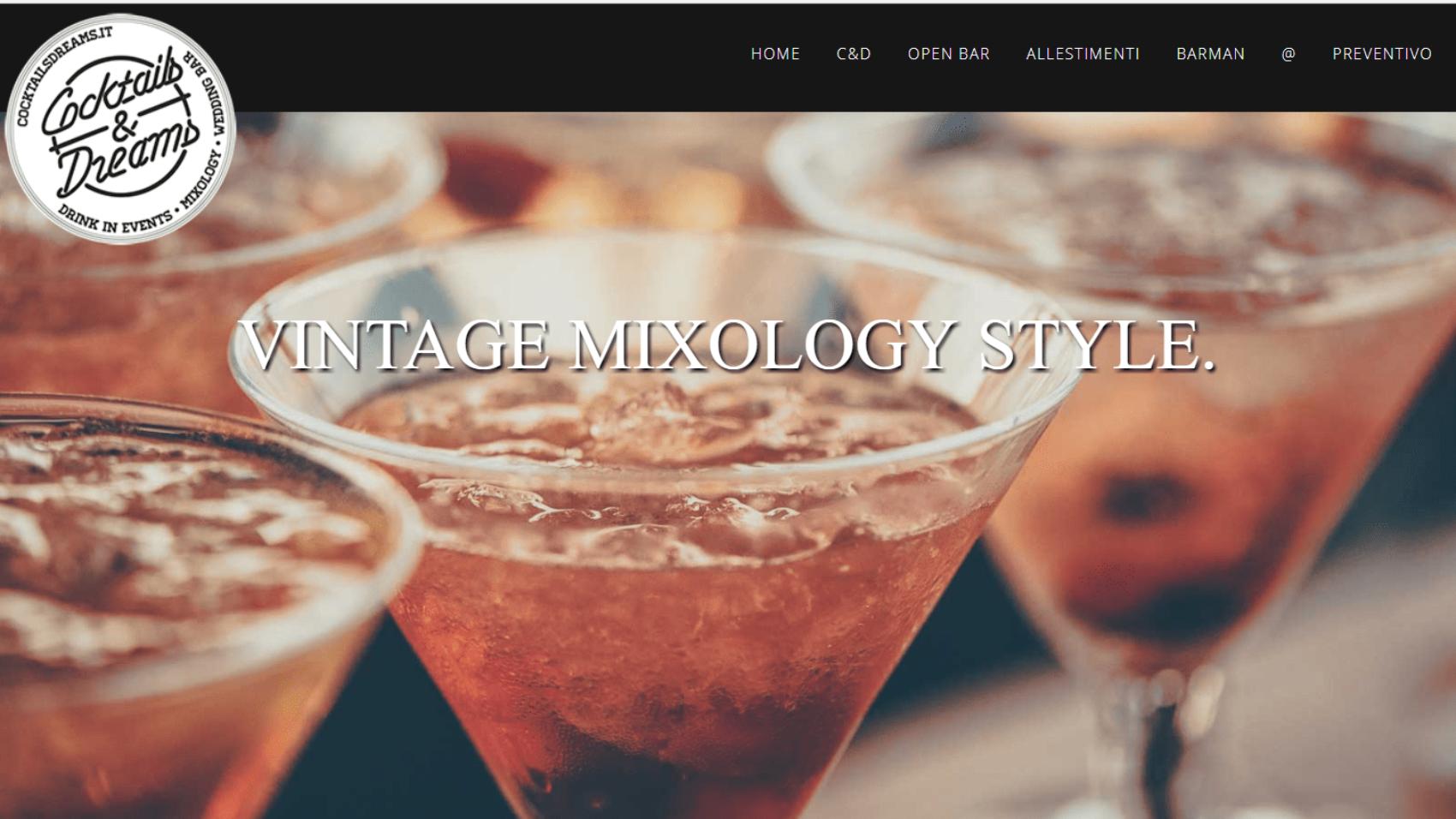 siti web lodi nuovo sito cocktailsdreams