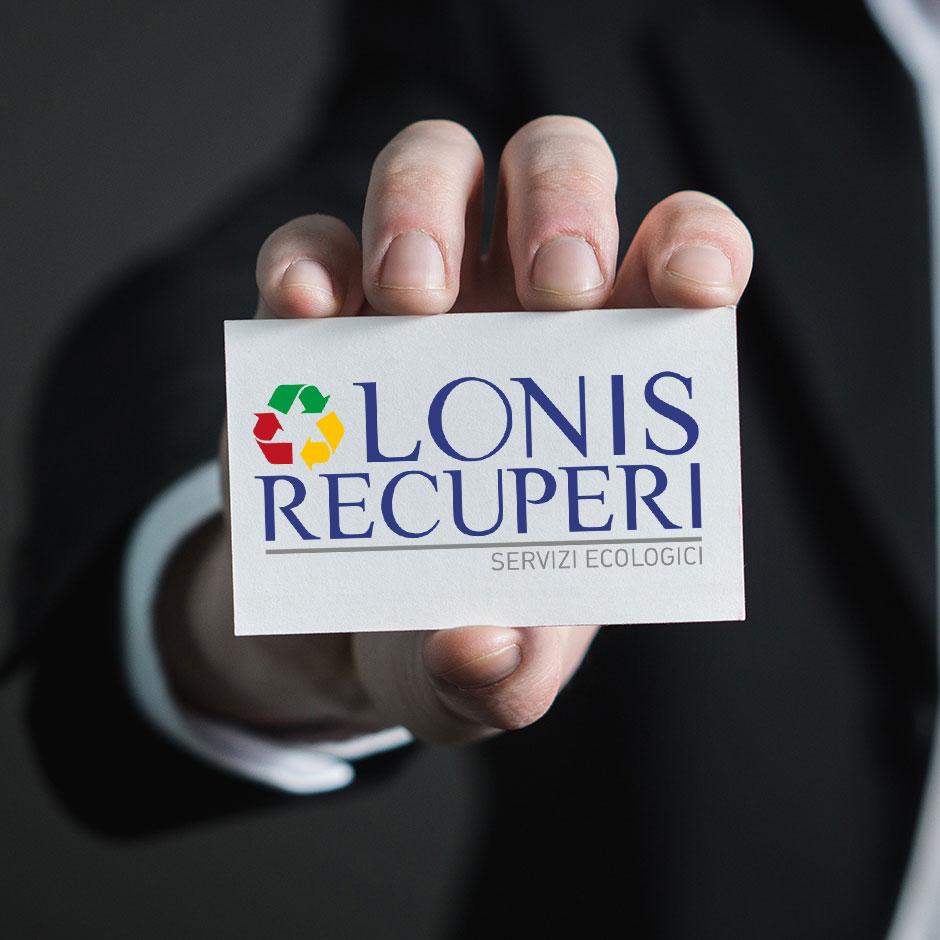 Nuovo logo design per Lonis Recuperi